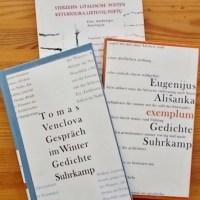 Poesie als Sprache der Freiheit – Lyrik aus Litauen