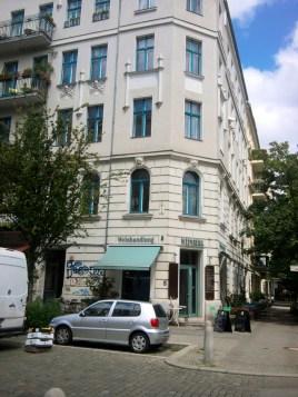 Wohnhaus von Felice Bauer in der Immanuelkirchstraße