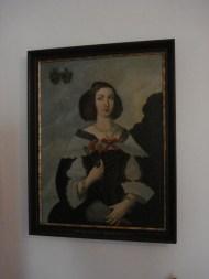 Barbara Seenuss-Khevenhüller Porträt 17.Jhdt. Museum Stadt Villach
