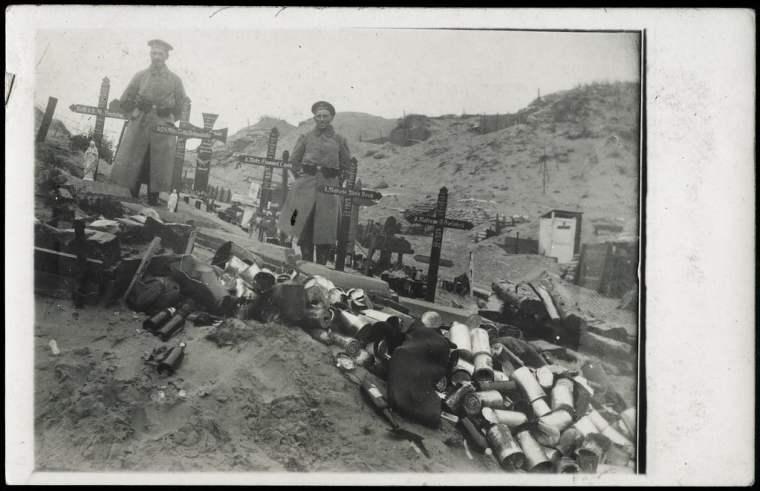 Kriegsgräber, 1915 Verbeke Dreissig Tage