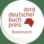 Deutscher Buchpreis 2019 - Die Longlist