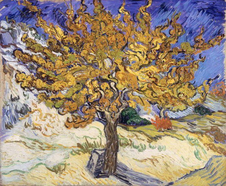 van Gogh - Maulbeerbaum Herbst