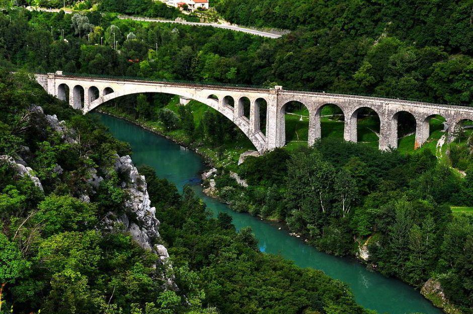 Isonzo bei Nova Gorica