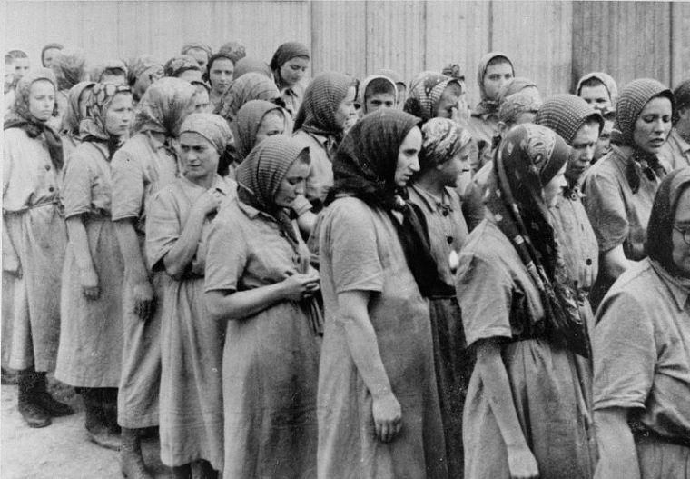 Jüdische Frauen in Auschwitz-Birkenau
