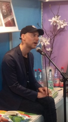 Tom Malmquist auf der Leipziger Buchmesse 2017