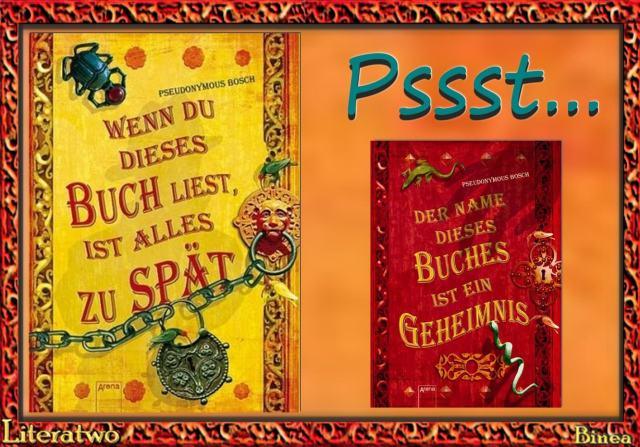 Pseudonymous Bosch – GEHEIM!