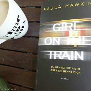 Girl on the train ~ Paula Hawkins