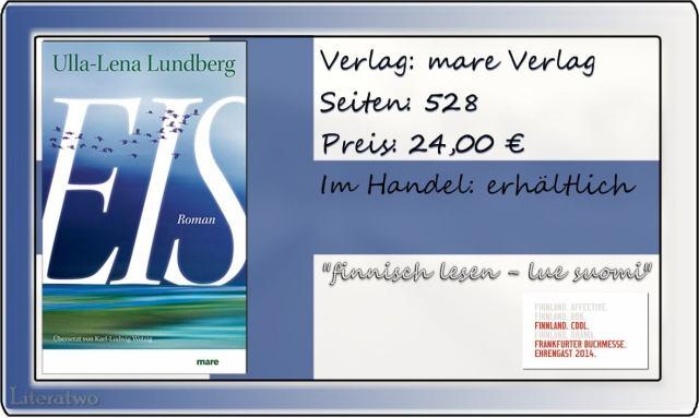 Literatwo: Eis ~ Ulla-Lena Lundberg