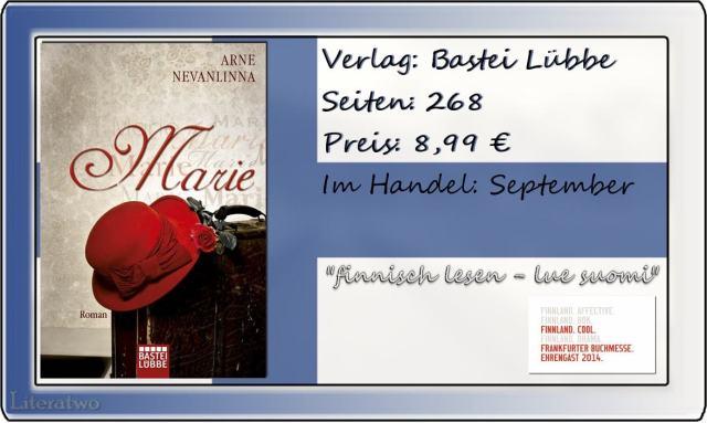 Literatwo: Marie ~ Arne Nevanlinna