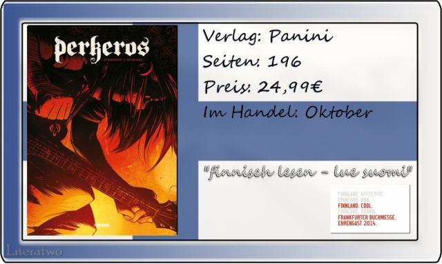 "Literatwo: ""Perkeros"" ~ J. P. Ahonen"