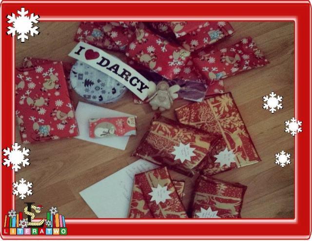 LovelyBooks Weihnachtswichteln - liebevoll verpackt