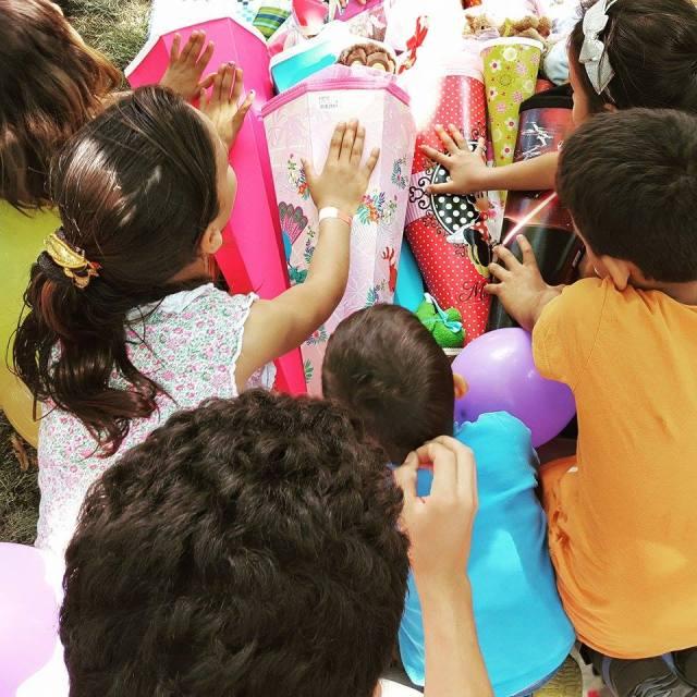 Zuckertütenfest im Kindercamp Dresden