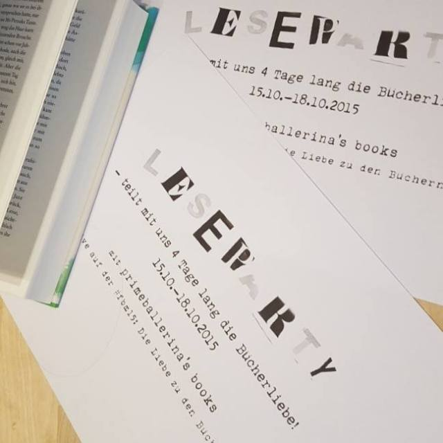 Leseparty ~ Primaballerina´s books
