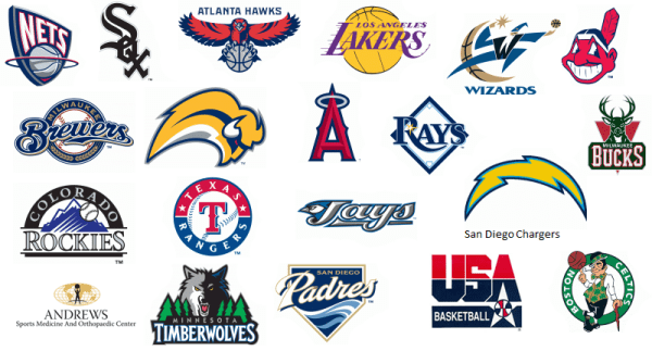 The gallery for gt Professional Sports Teams Logos
