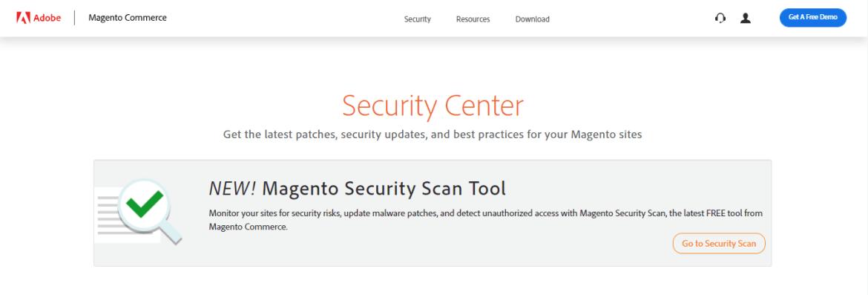 Magento security help center