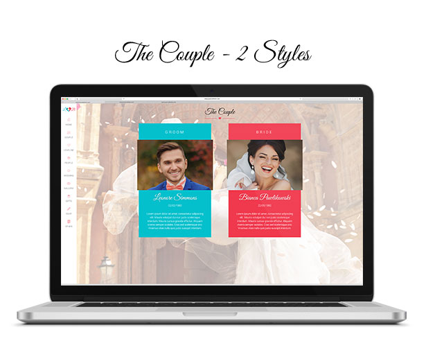 Lovebirds - Responsive Wedding HTML Template - 4
