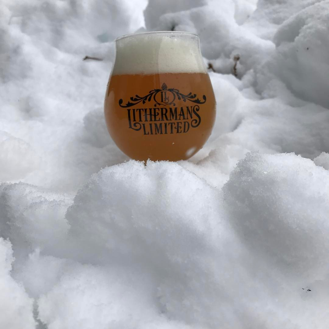 We are open from 12-5pm today! #howmuchcanyoucarry #lithermans #concordnhbrewed #nhbeer #MHPlikes snow?