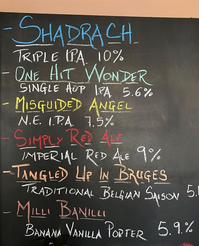We are open today from 12-4pm. Six beers on tap and cans to go of Misguided Angel, One Hit Wonder, Milli Banilli Porter and Shadrach Triple IPA. #lithermanslimited #nhbrewers