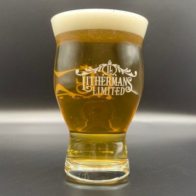 Lithermans Pint Glass