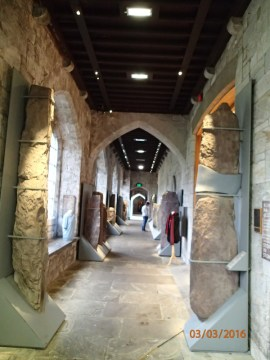 I visited the Cork University Ogham stone collection, the most comprehensive collection of Irish Ogham stones