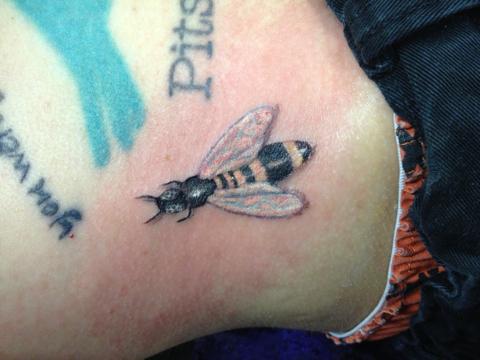 Tattoo by Fish, Doc Dog's Las Vegas Tattoo, Ybor City