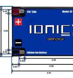 12 volt 12ah battery [ 2189 x 1376 Pixel ]