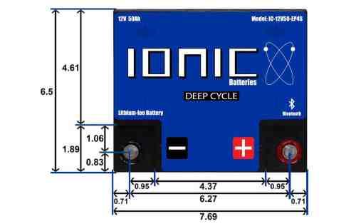 small resolution of 12 volt 50ah battery