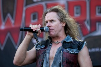 Warrant Heavy Montreal a Parc Jean Drapeau a Montreal, Quebec, Canada PHOTO BY TIM SNOW