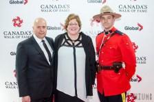 Evelyn Wilson, Peter Soumalias Unsung Hero Honour recipient and husband