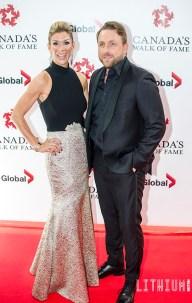 Johnny Reid with wife Jennifer