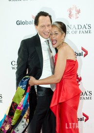 Lawrence Hill and Molly Johnson