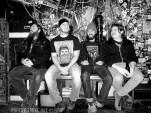 Sandveiss band shot - Bovine Sex Club, Toronto - November 27th, 2015 - Photo by Mike Bax