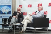 Steve Martin in conversation with Andrew Hunter at AGO (1)