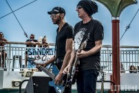 Kings X performs on The Kiss Kruise