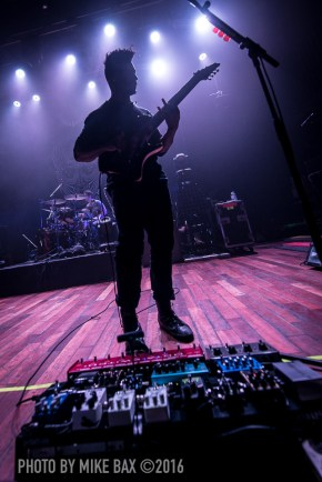 Animals as Leaders - The Opera House, Toronto - November 28th, 2016 photo by Mike Bax