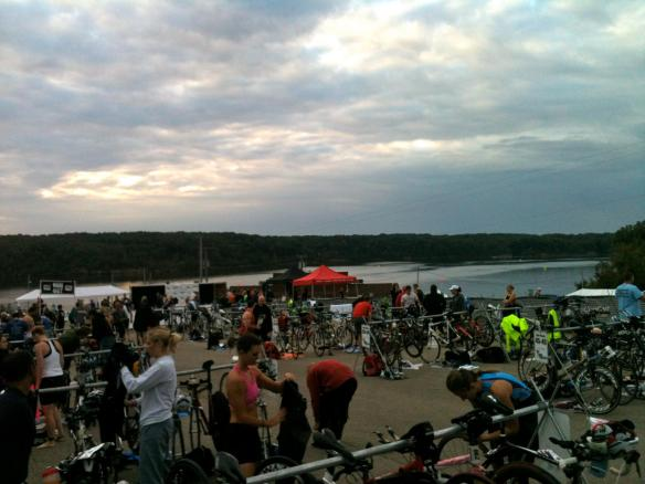 View of transition area