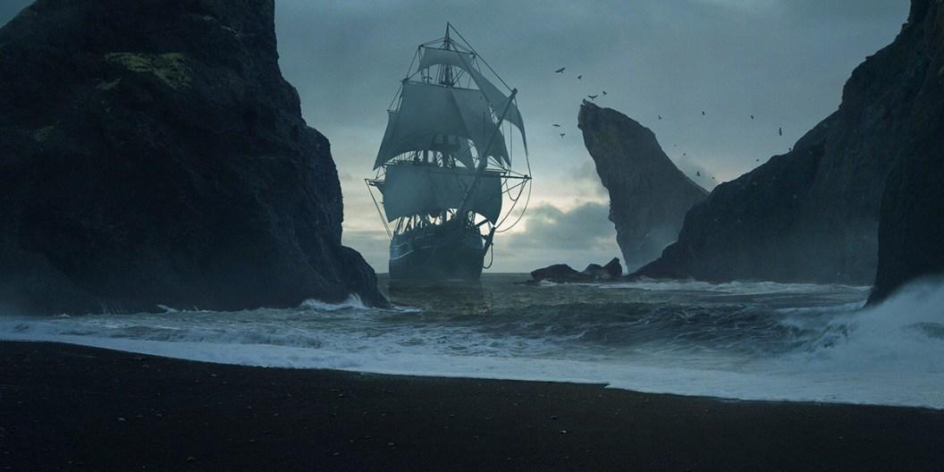 ship on the beach of destiny