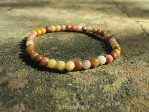 Bracelet en mokaite