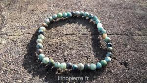 bracelet en turquoise africaine