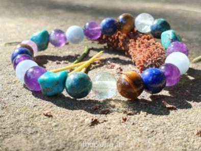 bracelet chemin de vie lithopierre