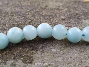 perles en amazonite
