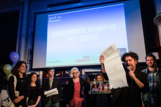 Dolan Morgan presents H.I.P. Lit's Exquisite Corpse