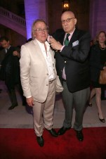 Gary Fisketjon and James Ellroy.