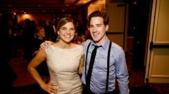 Jessica Bucheler and Christian Burrows