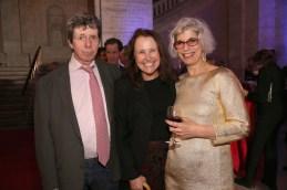 Richard Price, Lorraine Adams, and Robin Desser.