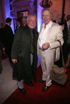 Richard Russo and Gary Fisketjon.