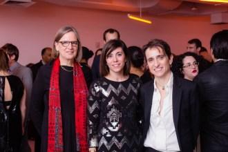 Honorees Fiona McCrae, Cristina Henriquez, Masha Gessen