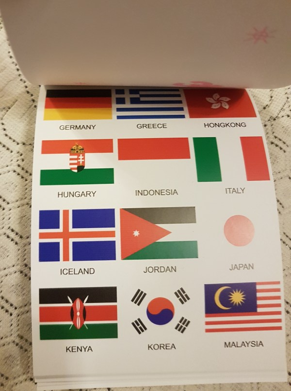 Stamps and Flags Stickers