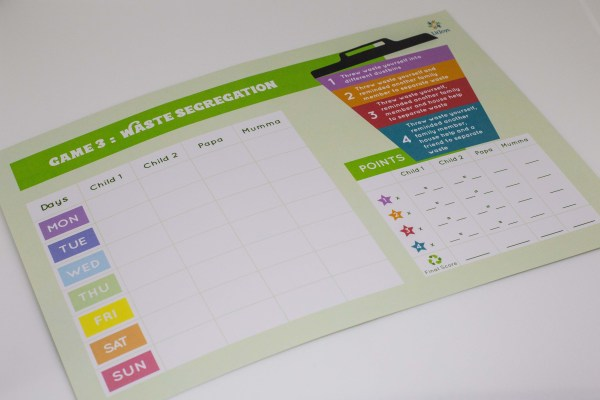 Family Kids Game to Build Eco-Friendly Habits for a Cleaner Environment