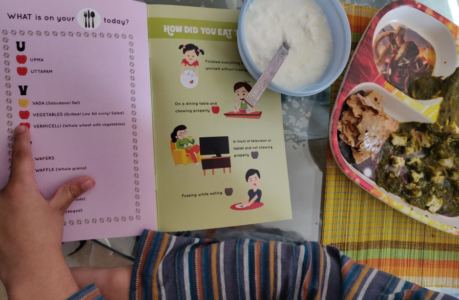 Kids Food Game on Health & Nutrition
